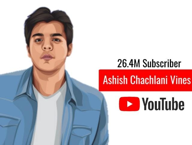 Ashish Chachlani Most Youtube Subscribers India