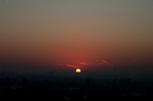 Start of the sunrise