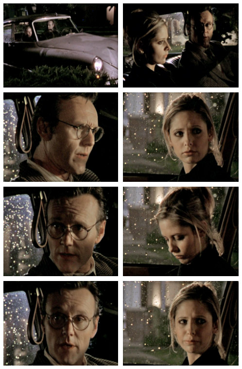 Buffy and Giles in Innocence
