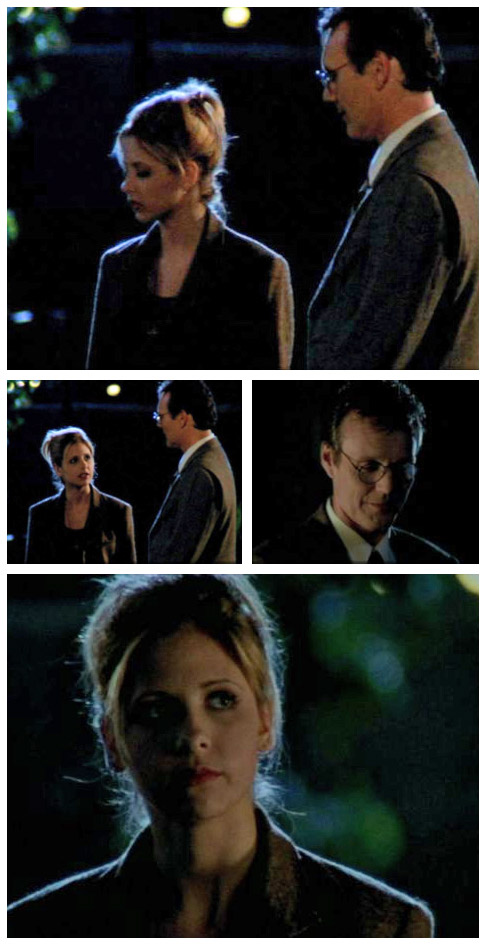 Buffy and Giles in Lie to Me