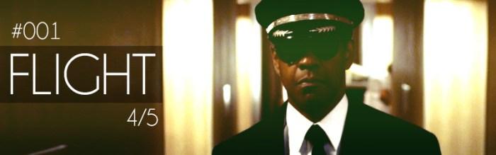 Flight - starring Denzel Washington, directed by Robert Zemeckis