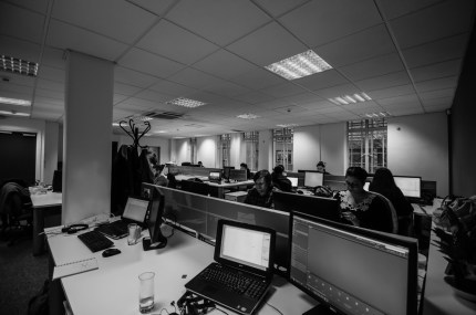 Day 13 and I'm playing photographer/paparazzi at work. Bonus points for getting to play with a wide angle lens which I've never had the pleasure in working with and which I now really want for myself.
