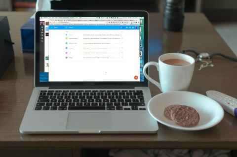 Day 263 Chai, milk chocolate Hobnobs and a whole lot of catching up to do on the computer. I know what my Sunday evening is looking like.