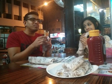 Because - shawarma.