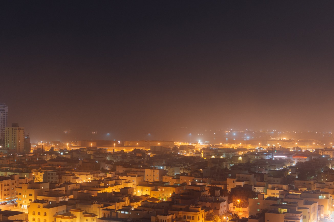 Bahrain in Photos: Dust