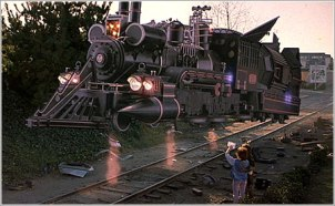 Back to the Future III Train