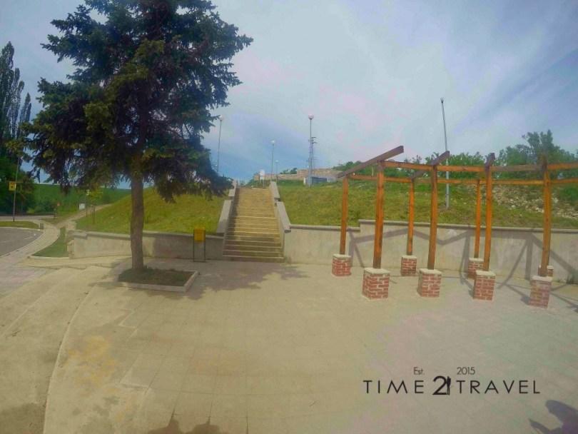 Монтанска крепост и нейният паркинг