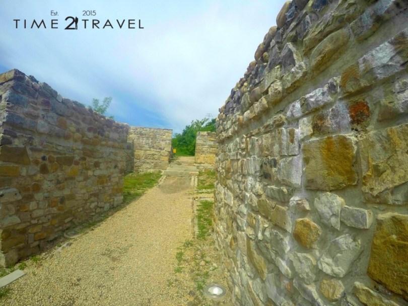 Част от крепостните стени на крепостта