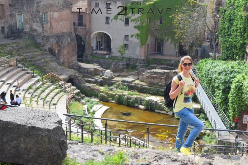 Римският театър в Катания