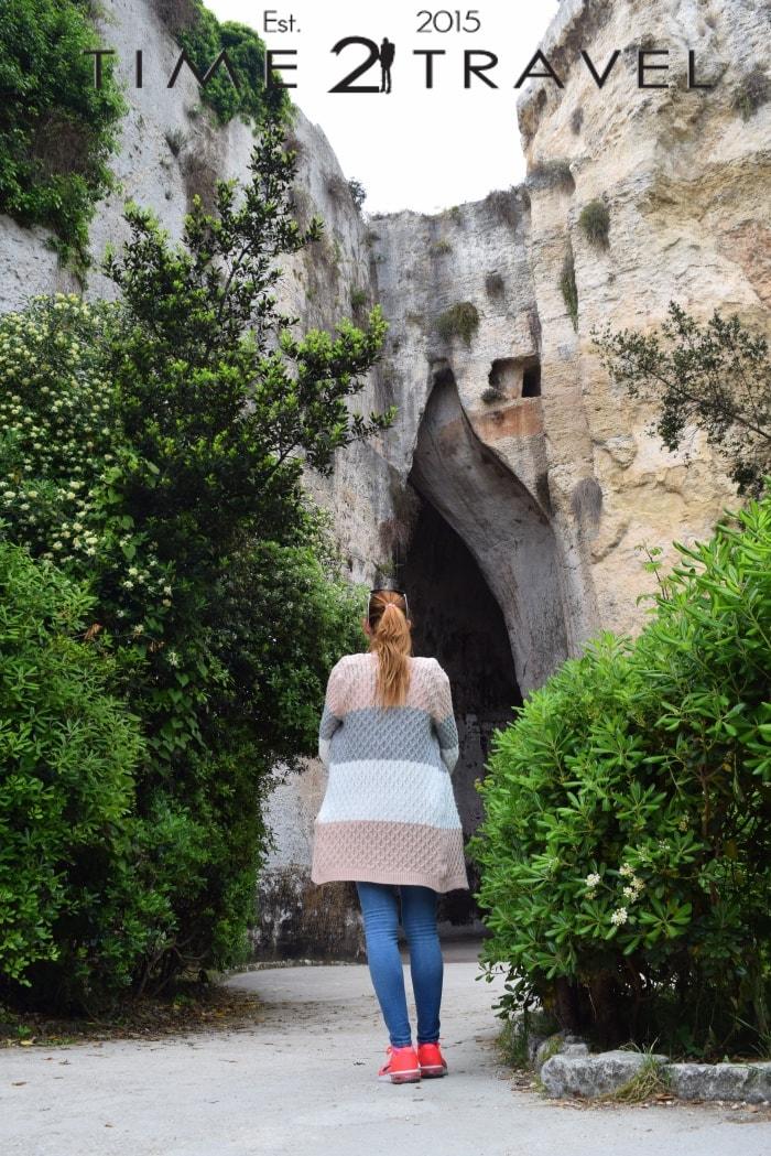 Пред Ухото на Дионис, Неаполис