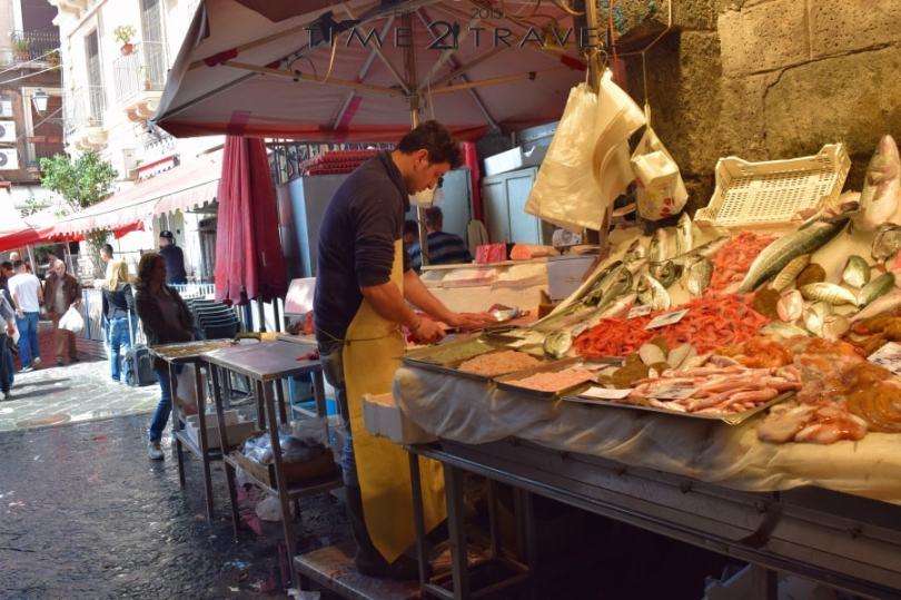 Рибен пазар Катания