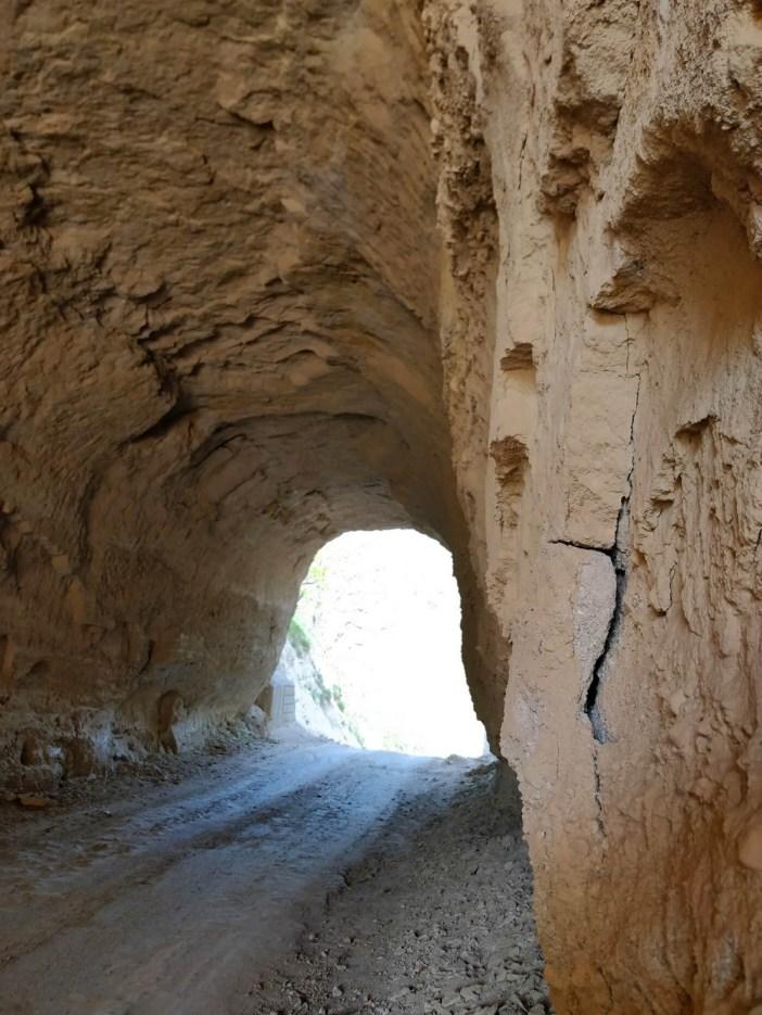 Пясъчният тунел при село Любовище