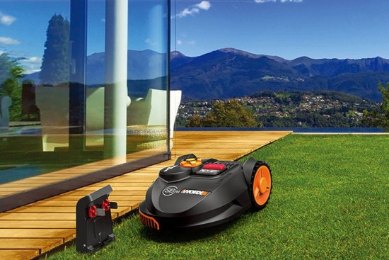 The Worx Landroid robot lawn mower time4gadget