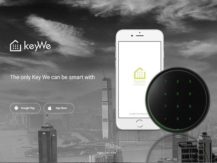 The KeyWe smart lock comes with an Ansi Grade 2 Deadbolt and the aluminium we use is so strong they use it to build airplanes and boats!We use 128 bit AES encryption for the connection between the KeyWe App and door lock - that means that even the signals between the app and hardware are encrypted and are being constantly updated to ensure constant security. Data access is very restricted and if there is any attempt to jailbreak or any rooting is detected, the app will block logins and delete all data.