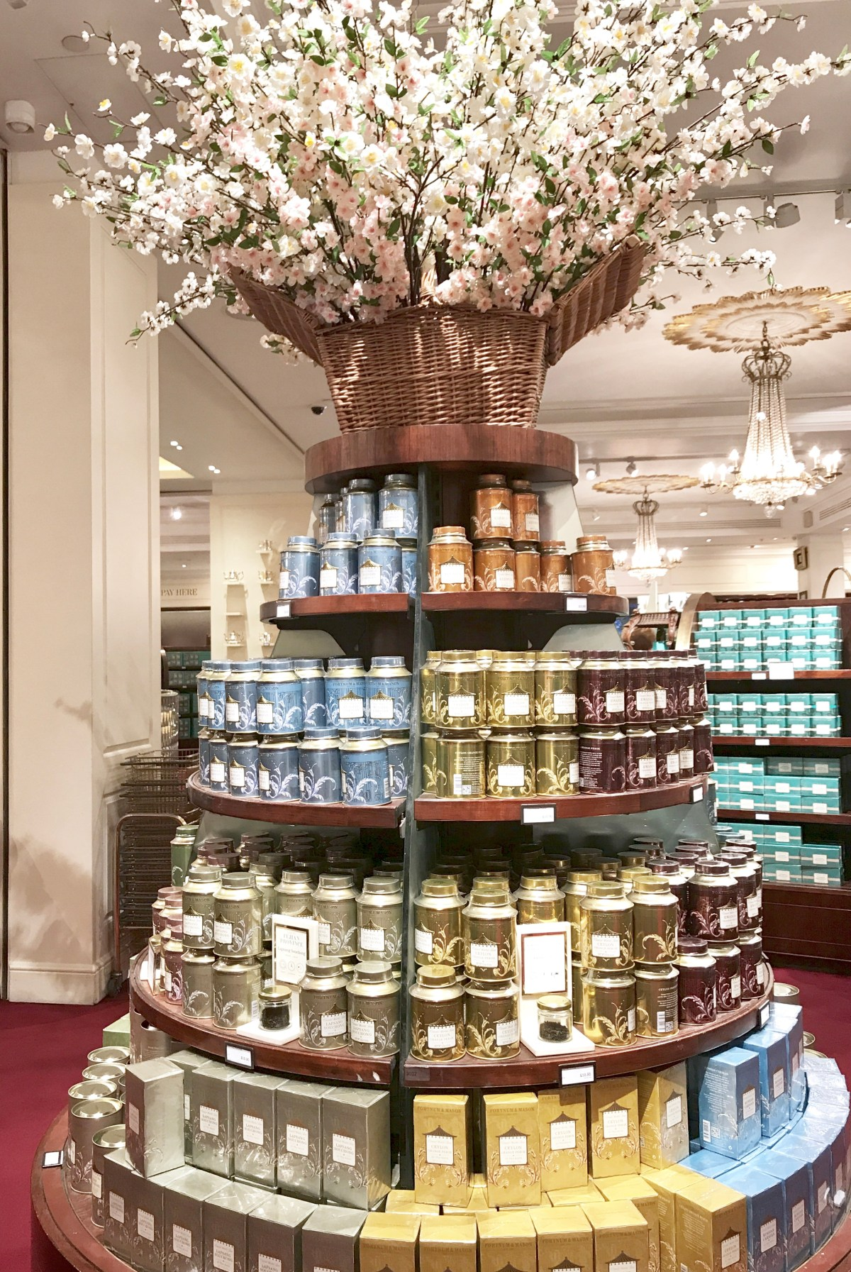 Fortnum and Mason, tea, London, shops