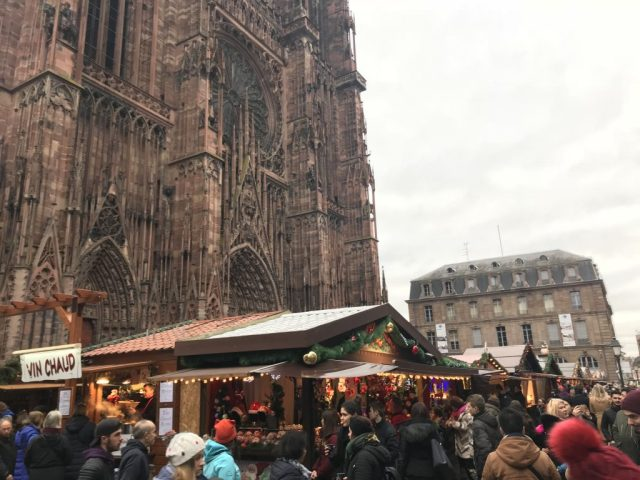 Strasbourg Christmas Markets Notre Dame Cathedral