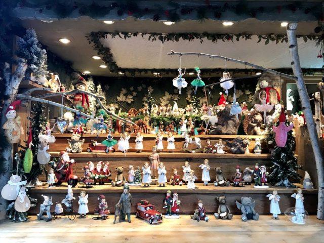 Strasbourg Christmas Market Stalls