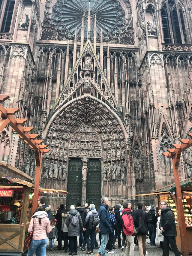 Strasbourg Notre Dame Cathedral Christmas markets