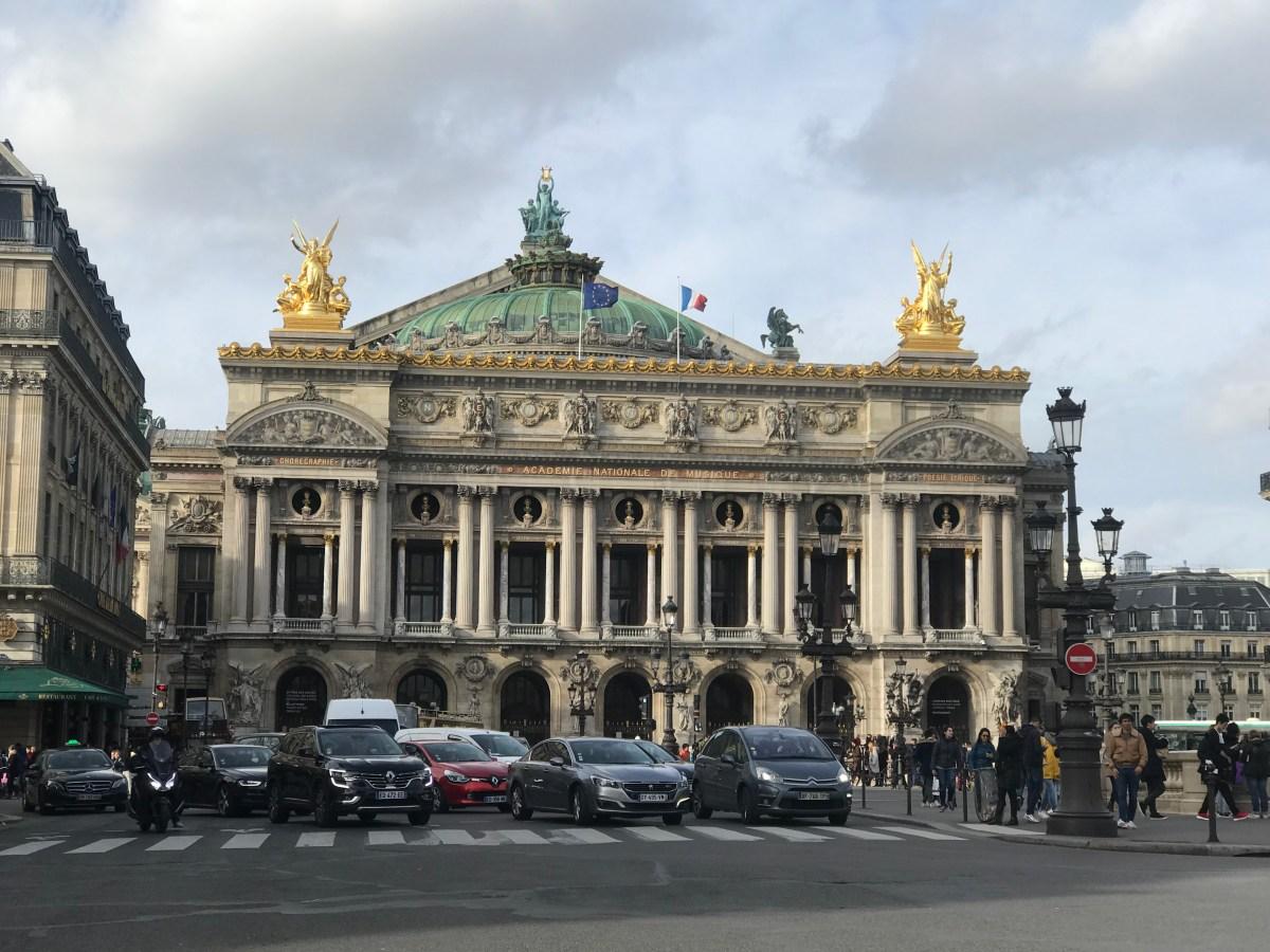 Opéra Garnier opera house