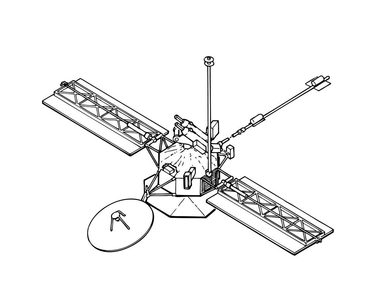 Mariner 10 Spacecraft