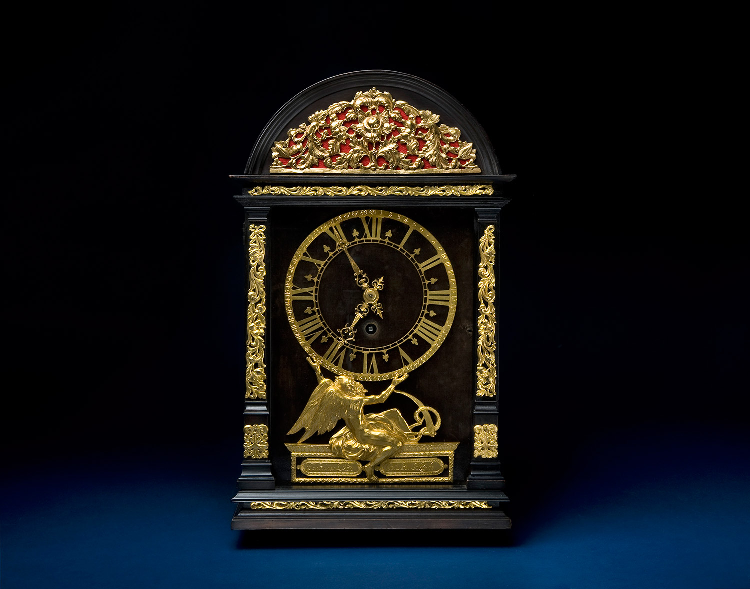 Dutch Table Clock With Pendulum