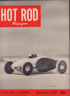 HOT ROD 1949