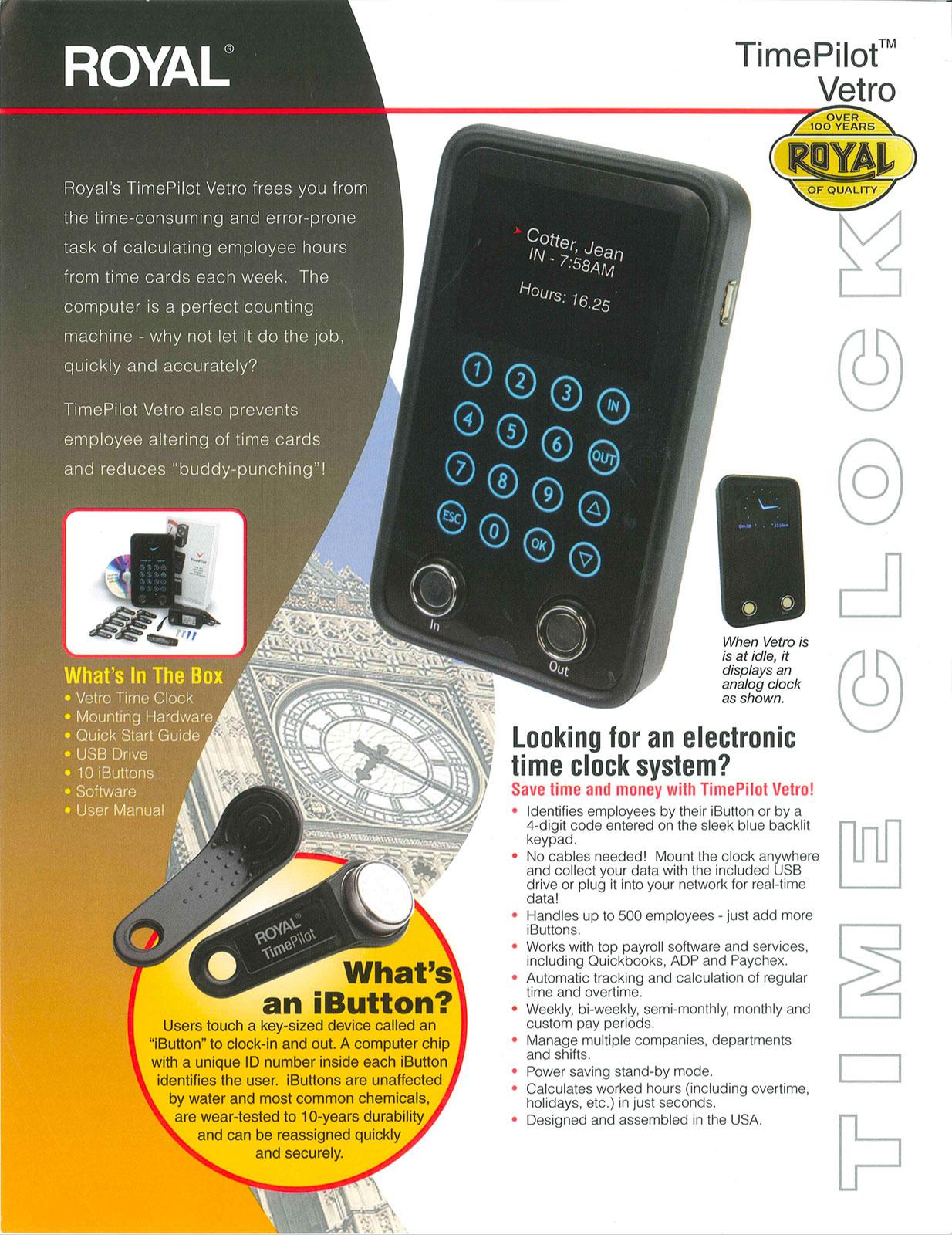 TimePilot Vetro