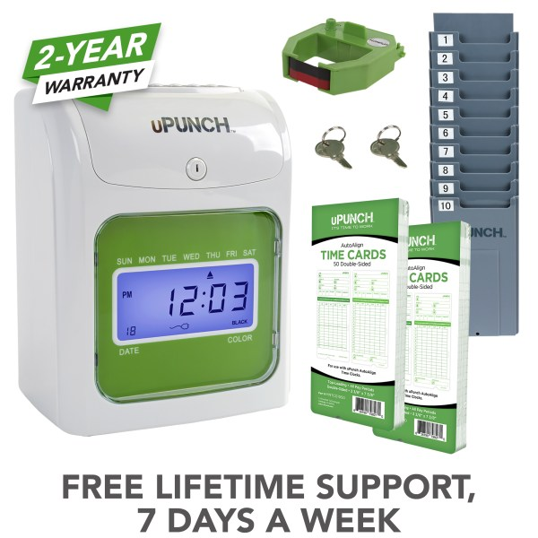 upunch, time clock, employee time clock, punch time clock