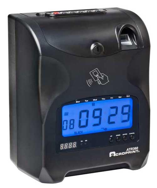 ATR360 Biometric Punch Clock (Refurb)