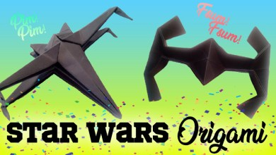 Especial Origami Star Wars naves Especiales