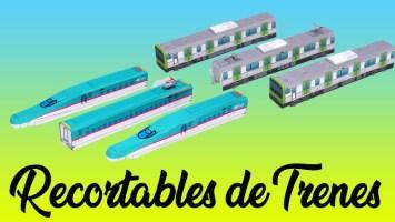 Recortables de trenes