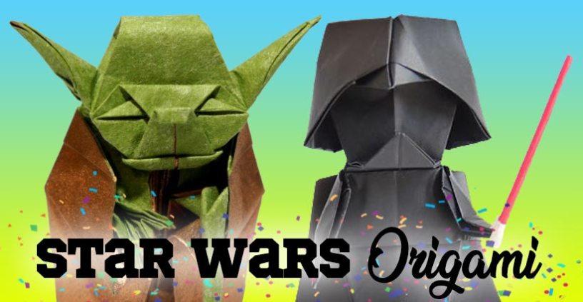 ¡Especial origami personajes Star Wars!