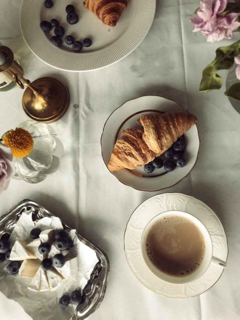 food plate dawn caffeine