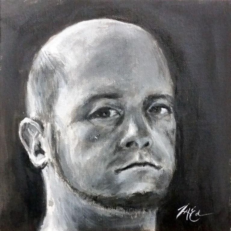 Self Portrait Value Study