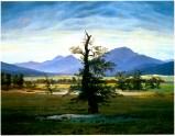 Der einsame Baum (the lonely tree), 1822