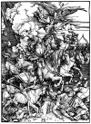 Albrecht Dürer: Four Horsemen of the Apocalypse (ca. 1497 – 98)