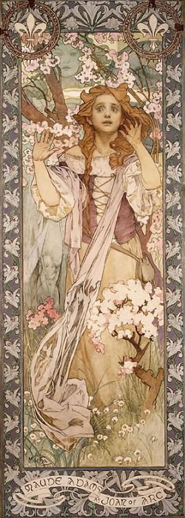 Maude Adams as Joan of Arc (1909)
