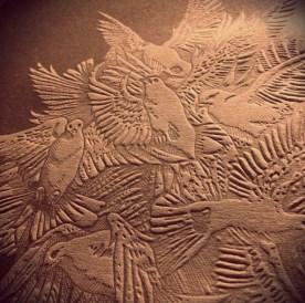 Cover artwork detail