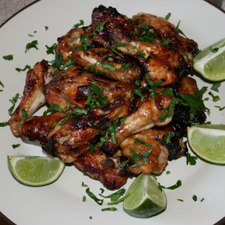 teriyaki chicken wings.
