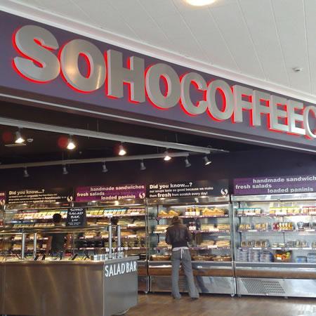 Soho Coffee Co, so, so…