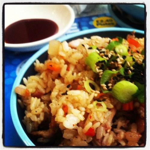 Chicken Firecracker Rice
