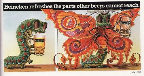 A classic Heineken advert from 1978.