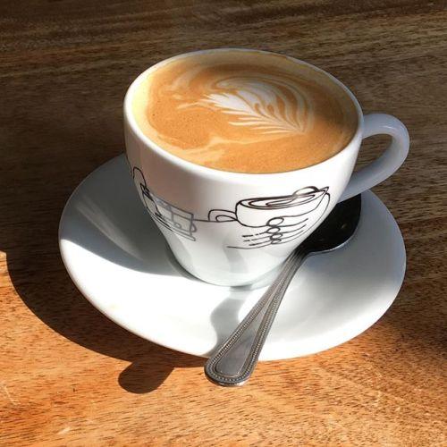 Coffee at the Arnolfini
