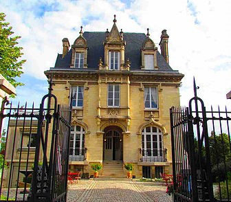 Das Maison Gonet auf der Rue de Champagne in Épernay