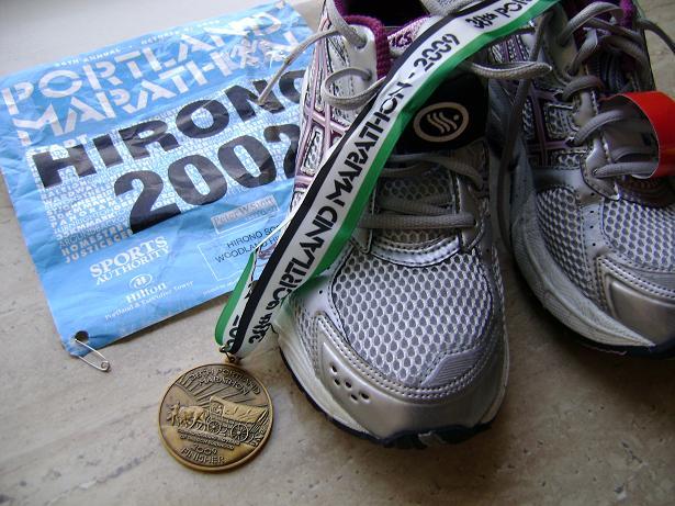 portland marathon medal