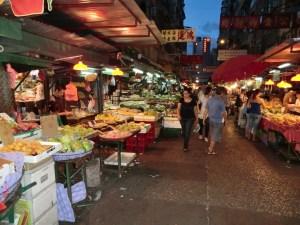 Einkauf am Markt