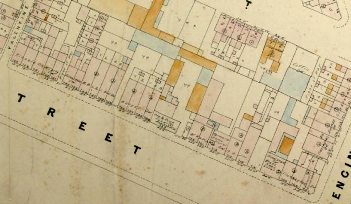 dog duck map 1888