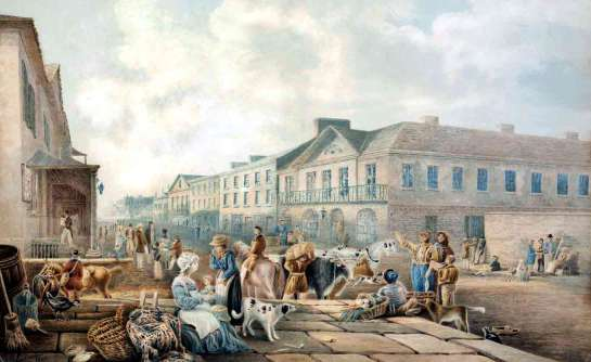 Before Sydney's Hilton Hotel was the Bull's Head Inn