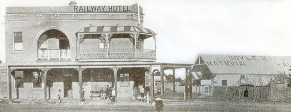 Railway Hotel Sutherland NSW 1910