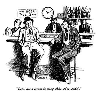 War time beer